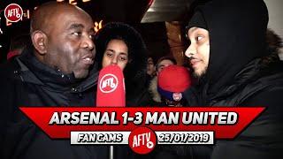 Arsenal 1-3 Man United | Don't Blame Emery! Kroenke Doesn't Care!! (Troopz)