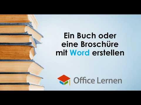 Ein Buch oder eine Broschüre mit Word erstellen