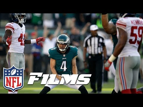 Carson Wentz Manipulates Giants to Set Up Iconic Kick (Week 3) | NFL Turning Point
