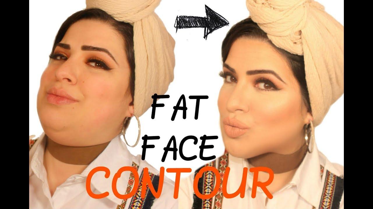 How I Contour My Fat Face - xh10jab