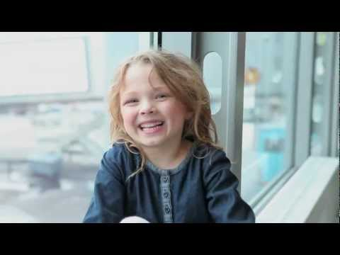Helsinki Airport through the eyes of a child