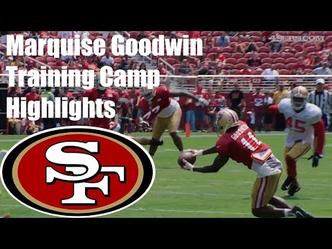Marquise Goodwin Training Camp Highlights 2017 49ers