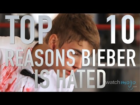 Top 10 Reasons Why Justin Bieber Is Hated (Quickie)