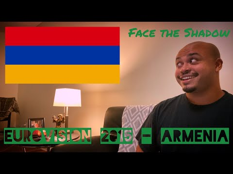 "EUROVISION 2015 ARMENIA REACTION -  16th Place ""Face The Shadow"" Genealogy"