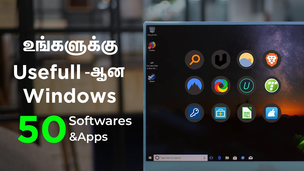 Windows 10 cool softwares