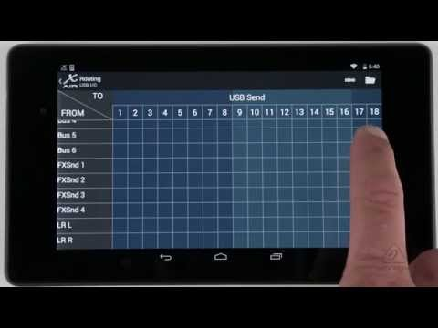 X AIR How To: Routing (Android)