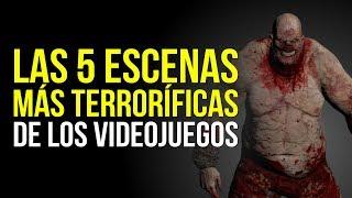 Las 5 ESCENAS MÁS TERRORÍFICAS de los videojuegos