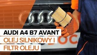 Jak wymienić olej silnikowy i filtr oleju w AUDI A4 B7 AVANT TUTORIAL | AUTODOC