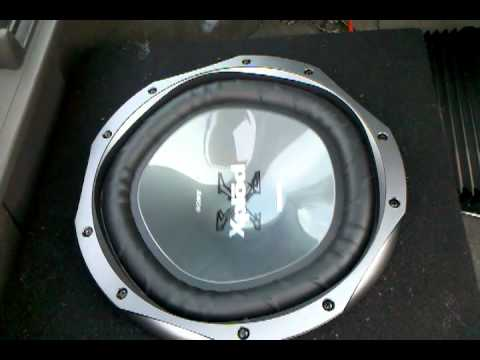 2 12 Quot Sony Xplod Subs And 1000 Watt Amp 3peat Youtube