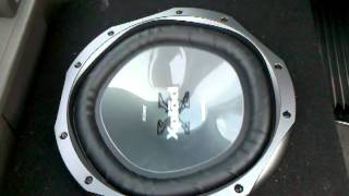 "2 12"" sony xplod subs and 1000 watt amp- 3peat"