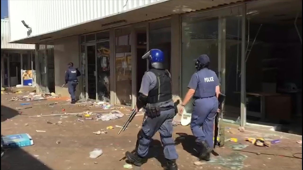 Deadly rioting and looting in South Africa after ex-president Jacob ...