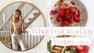 Vegan What I Eat in a Day as a Model | Healthy Simple Recipes That Are Good For You | Sanne Vloet