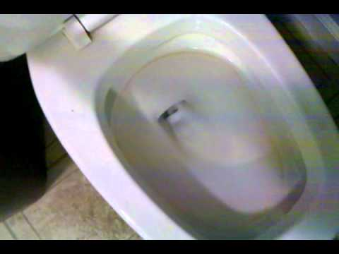 Eljer Square Front Emblem Toilet 80s  YouTube