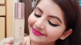 Lakme 9 to 5 Flawless Matte Complexion Foundation review amp demo Marble RARA
