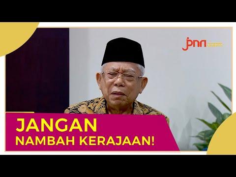 Ma'ruf Amin: Indonesia Sudah Punya Kerajaan, Jangan Ditambah