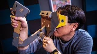 Tested: Nintendo Labo VR Kit Review!