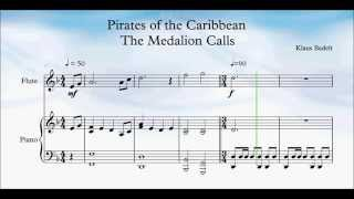 Pirates of the Caribbean The Medallion Calls Flute Solo