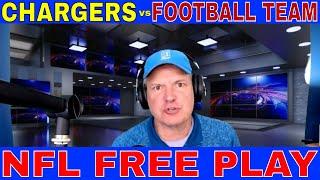 NFL Picks and Predictions | LA Chargers vs Washington Football Team Preview | Predictive Playbook