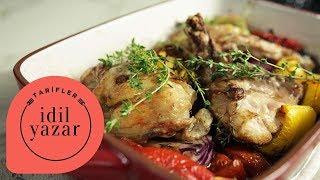 Tek Tepsi Tavuk Pirzola Tarifi - İdil Yazar - Yemek Tarifleri