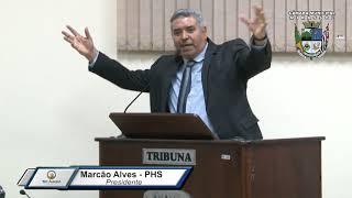 31ª Sessão Ordinária - Presidente Marcão Alves