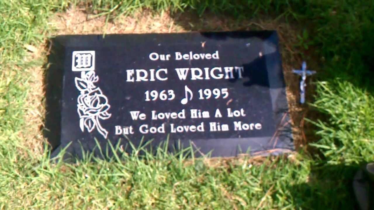 Easy E Funeral: Eazy-E. His Gravesite