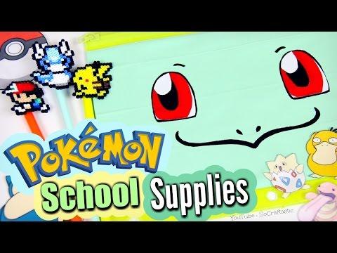 diy-school-supplies-:-magnetic-notebook-&-pokemon---back-to-school-how-to-|-socraftastic