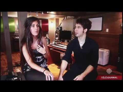 TV Interview - Julia & David on Radio Canada (English Subtitle)