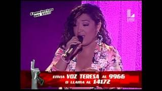 """Teresa Medrano canta """"Te pareces tanto a él"""" - Conciertos en vivo - Segunda Temporada"""