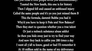 Bubba Sparxxx - Deliverance (Lyrics)