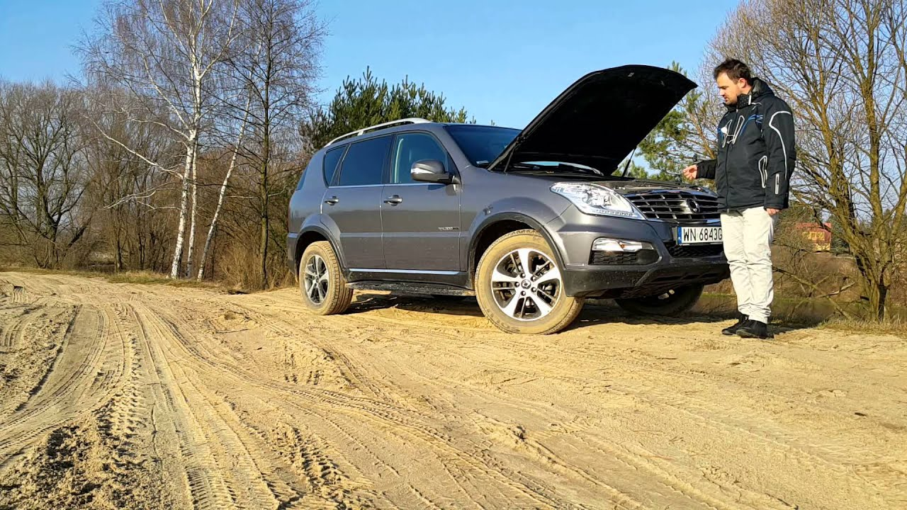 test ssangyong rexton w youtube. Black Bedroom Furniture Sets. Home Design Ideas