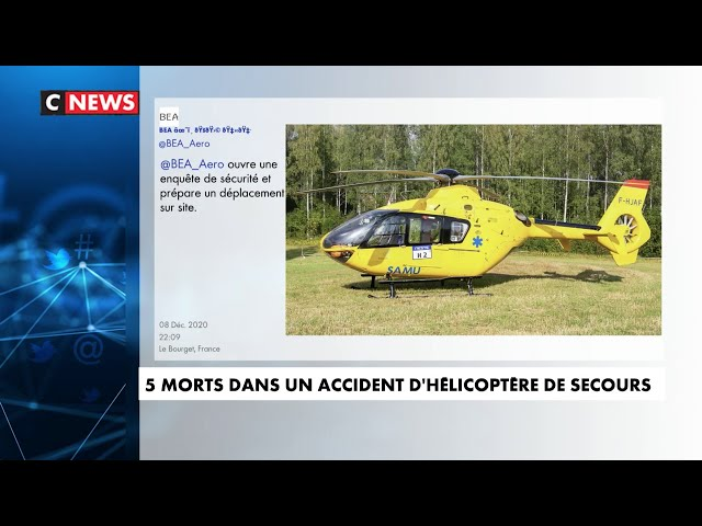 Crash d\'un hélicoptère en Savoie \: 5 morts et un blessé en urgence absolue