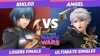 Naifu Wars 11 Losers Finals - MkLeo (Wolf, Byleth) Vs. Angel (Robin) Smash Ultimate - SSBU
