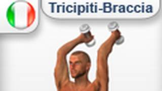 French Press Con Mabubri Pesi - Esercizi muscoli Tricipiti / Braccia (allenamento palestra a casa)