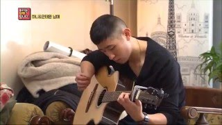 EXID ?????? Hani ?? & her brother play the guitar