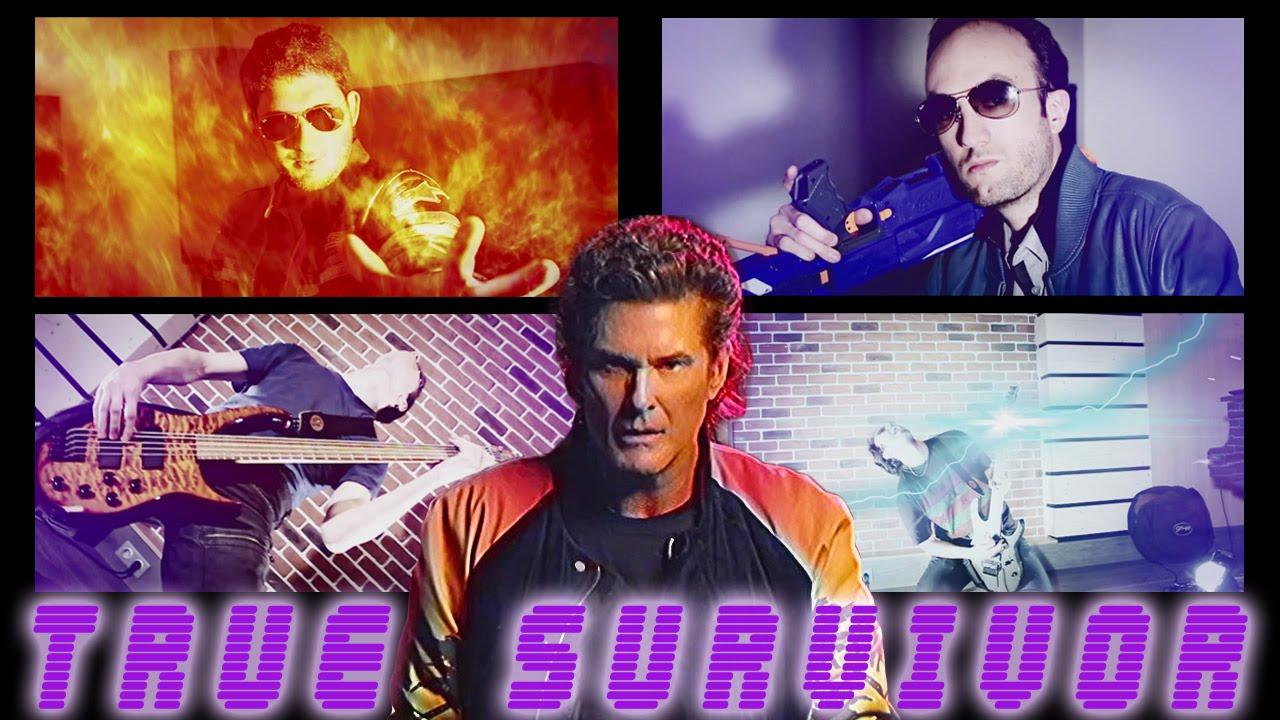 True Survivor (Kung Fury) - David Hasselhoff - Metal Cover ...