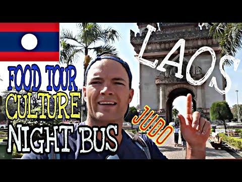 Laos: nourriture, culture, sport... bus de nuit!