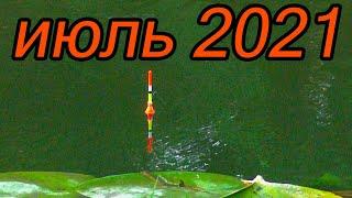 Рыбалка в зарослях на реке 2 июля плотва голавль и другие