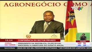 Conferência do sector privado: Chefe de Estado garante trabalhar no encerramento do processo da paz