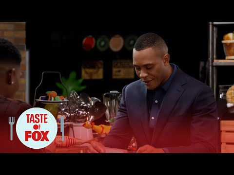 Bryshere Gray Drills Trai Byers With Questions  TASTE OF FOX
