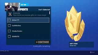Fortnite SEASON X, 4 season 10 battle pass giveaways