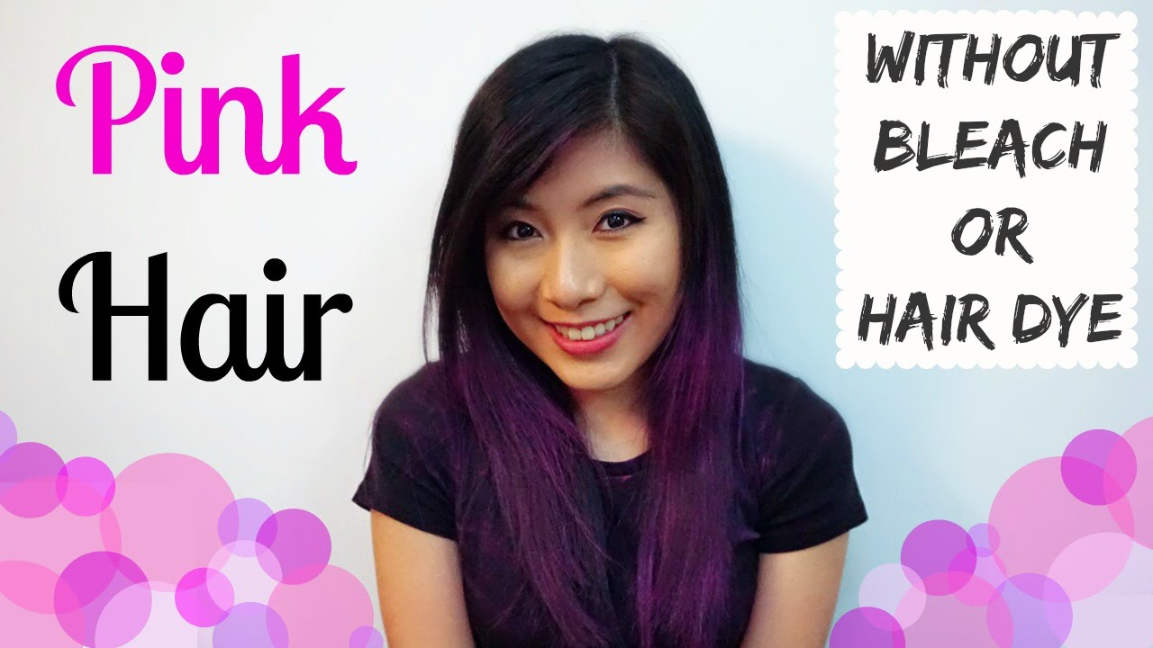 Pink Hair Without Bleach | Find your Perfect Hair Style