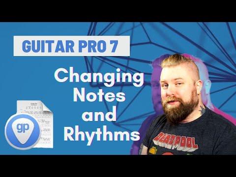 Guitar Pro 7 Tutorials Part 2 - Inputting Notes & Rhythms - Levi Clay
