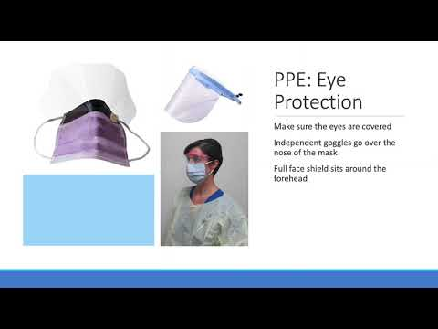 Personal Protective Equipment (PPE) In Airborne Infection Isolation