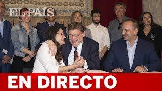 DIRECTO | Debate de INVESTIDURA de XIMO PUIG como presidente valenciano