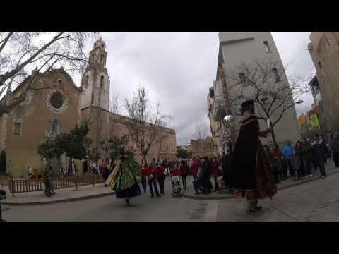 XIX Trobada Gegantera de les Comarques Meridionals de Catalunya - Valls 2017 -