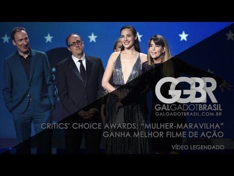 Critics' Choice Awards: Mulher-Maravilha ganha Melhor Filme de Ação (Legendado)