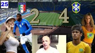 Brasile Italia 4 2 Conf Cup 2013 - Commento