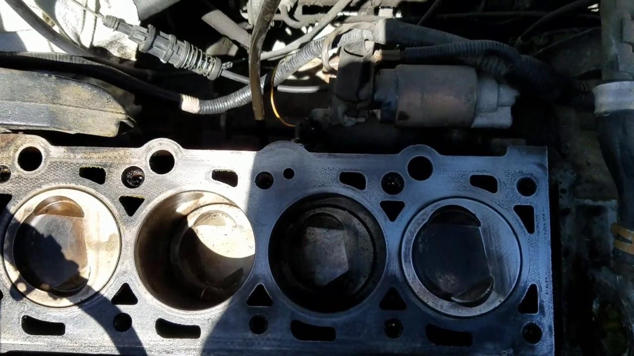 Escort oil leak