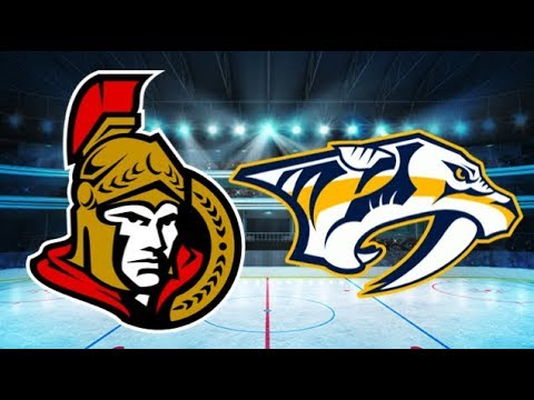 Ottawa Senators vs Nashville Predators (2-5) – Feb. 19, 2018 | Game Highlights | NHL 2018