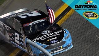 Keselowski Grabs Monumental Win In Overtime